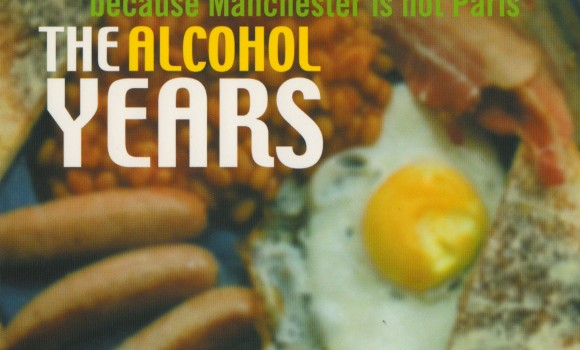 The Alcohol Years: postcard front