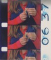 Girl: scan of filmstrip