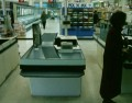 I'm Not Here: tracking shot in supermarket